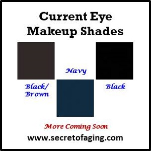 Current Eye Makeup Shades by Secret of Aging