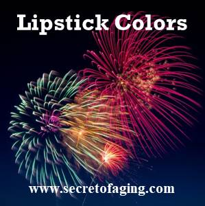 Lipstick Colors by Secret of Aging