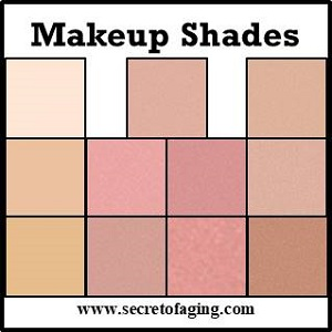 Makeup Shades by Secret of Aging