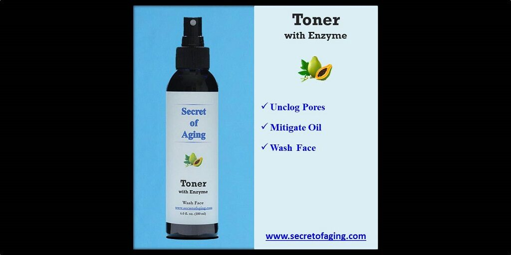 Toner with Enzyme by Secret of Aging