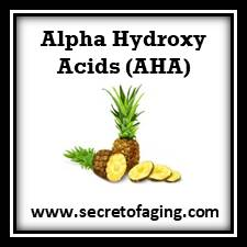 Alpha Hydroxy Acids (AHA) Skincare by Secret of Aging