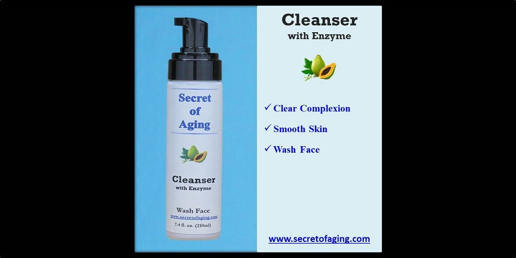 Cleanser with Enzyme by Secret of Aging