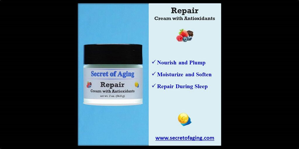 Repair Cream with Antioxidants by Secret of Aging