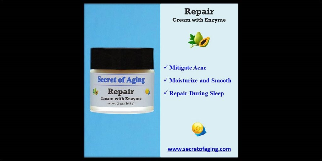 Repair Cream with Enzyme by Secret of Aging