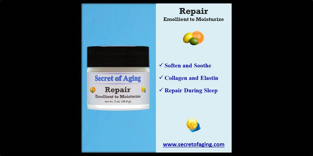 Repair Emollient to Moisturize by Secret of Aging