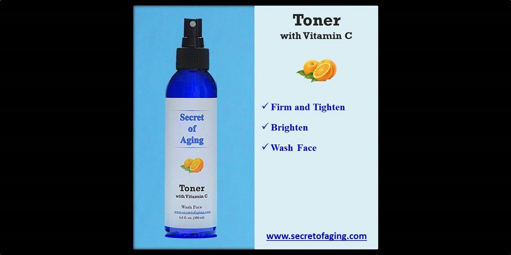 Toner with Vitamin C by Secret of Aging