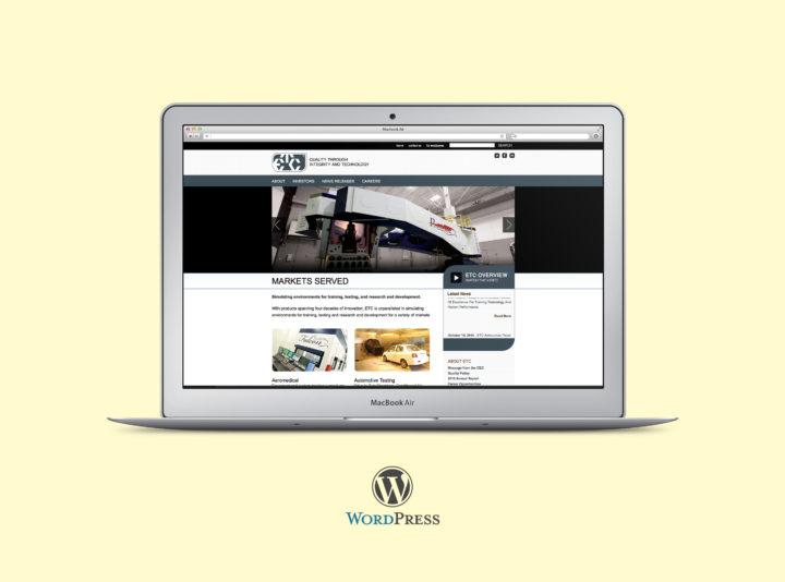 ETC Website Redesign