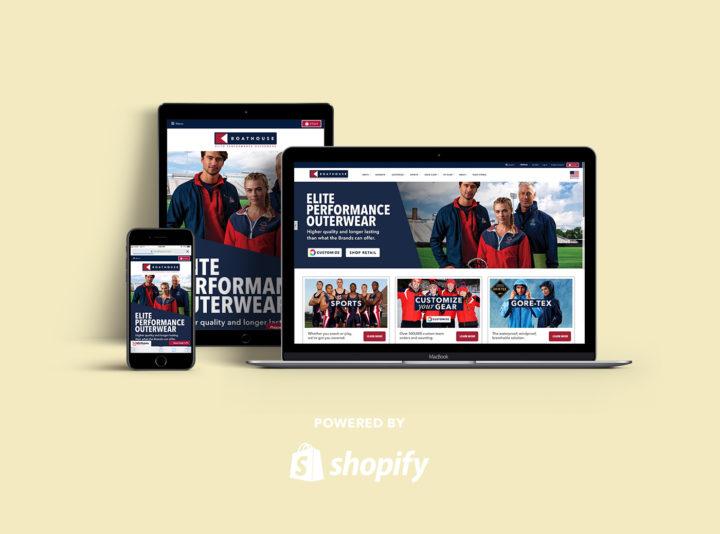 Boathouse eCommerce Website