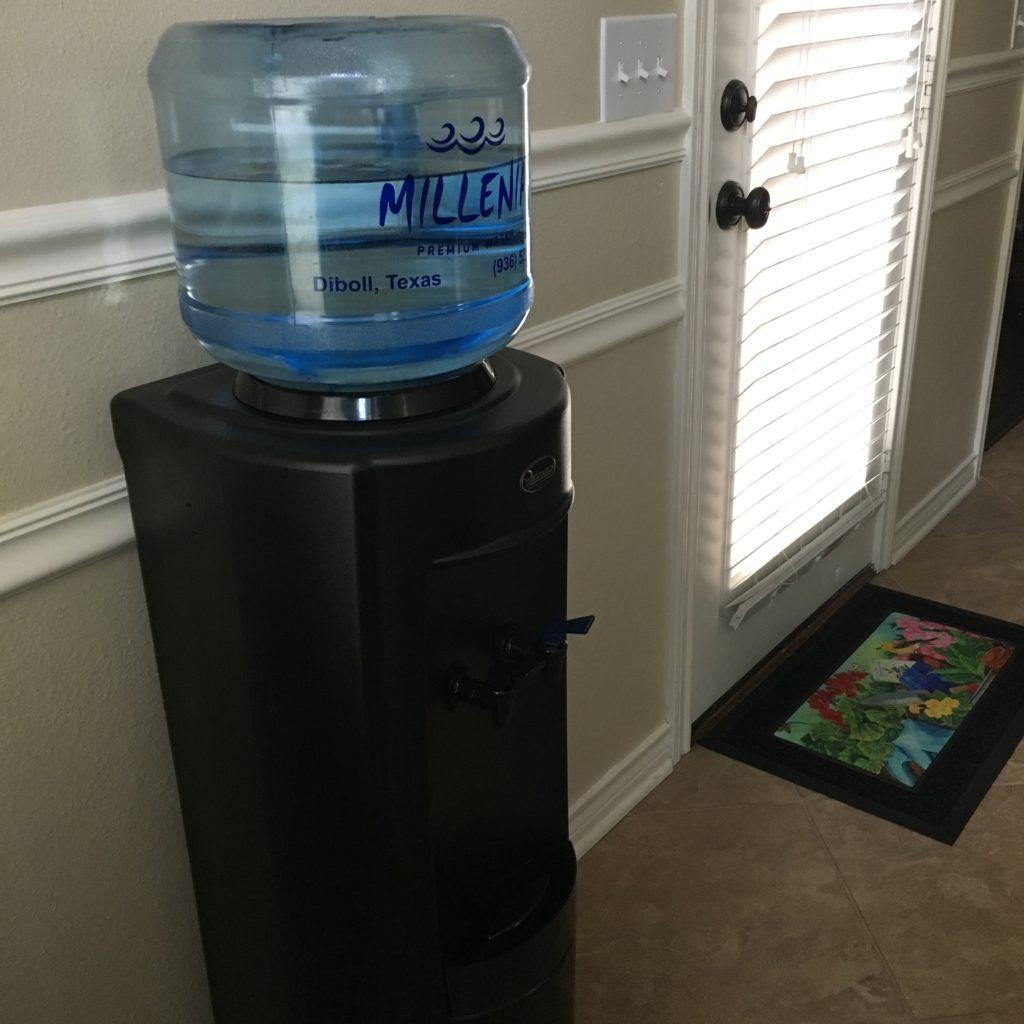 3 gallon bottle on cooler