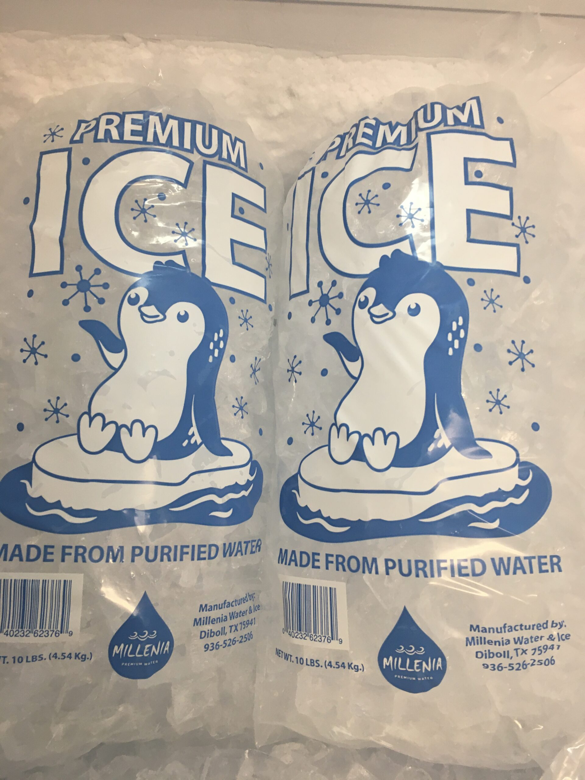 Millenia Ice bags