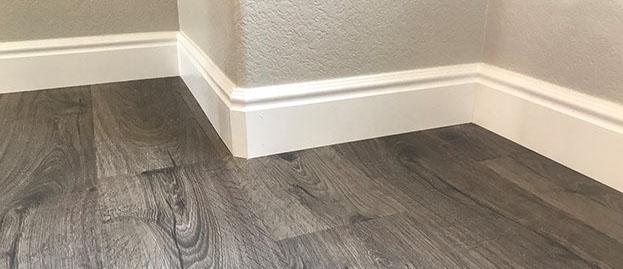 Baseboard and trim