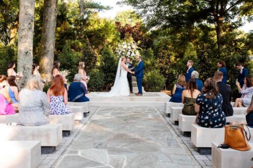 wedding venue outdoor ceremony