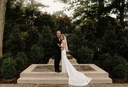 BMP boxwood garden wedding