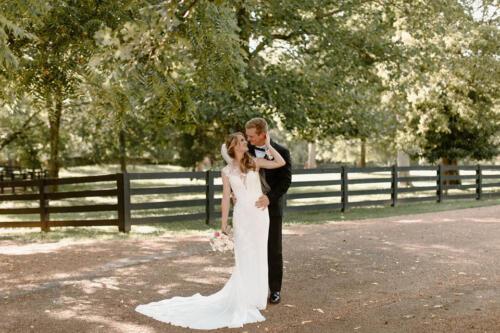 wedding ceremony outdoors photo