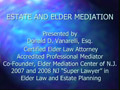 Elder Mediation III PowerPoint Presentation