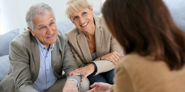 Divorce mediation image.