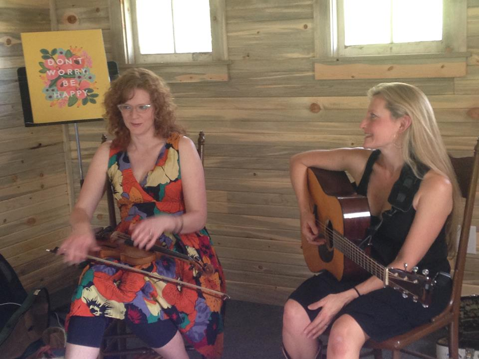 Rebecca Frazier & Becky Buller