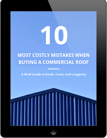 Download the 10 most costly mistakes when buying a commercial roof ebook.