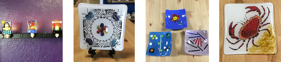 glass fusion projects