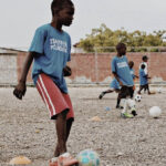 Youth participants in our Haitian Initiative program