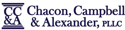 Chacon, Campbell & Alexander, PLLC logo blue