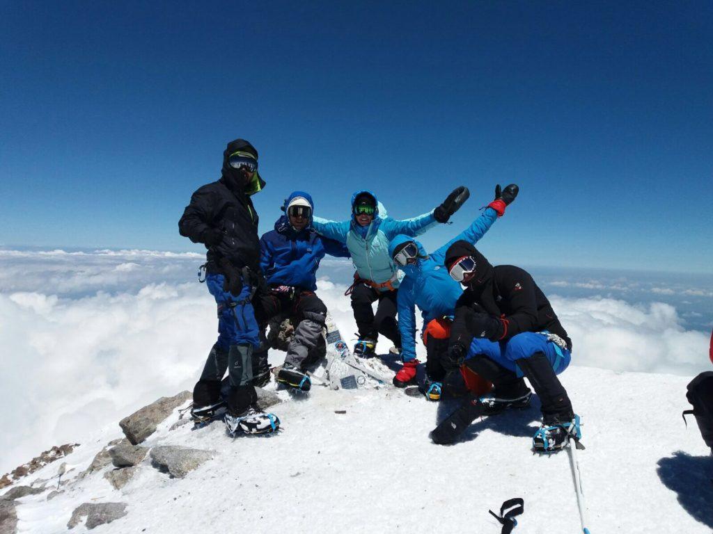 Cume do Monte Elbrus