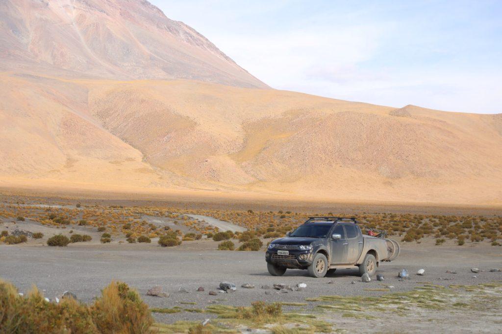 ir de carro para o Salar do Uyuni