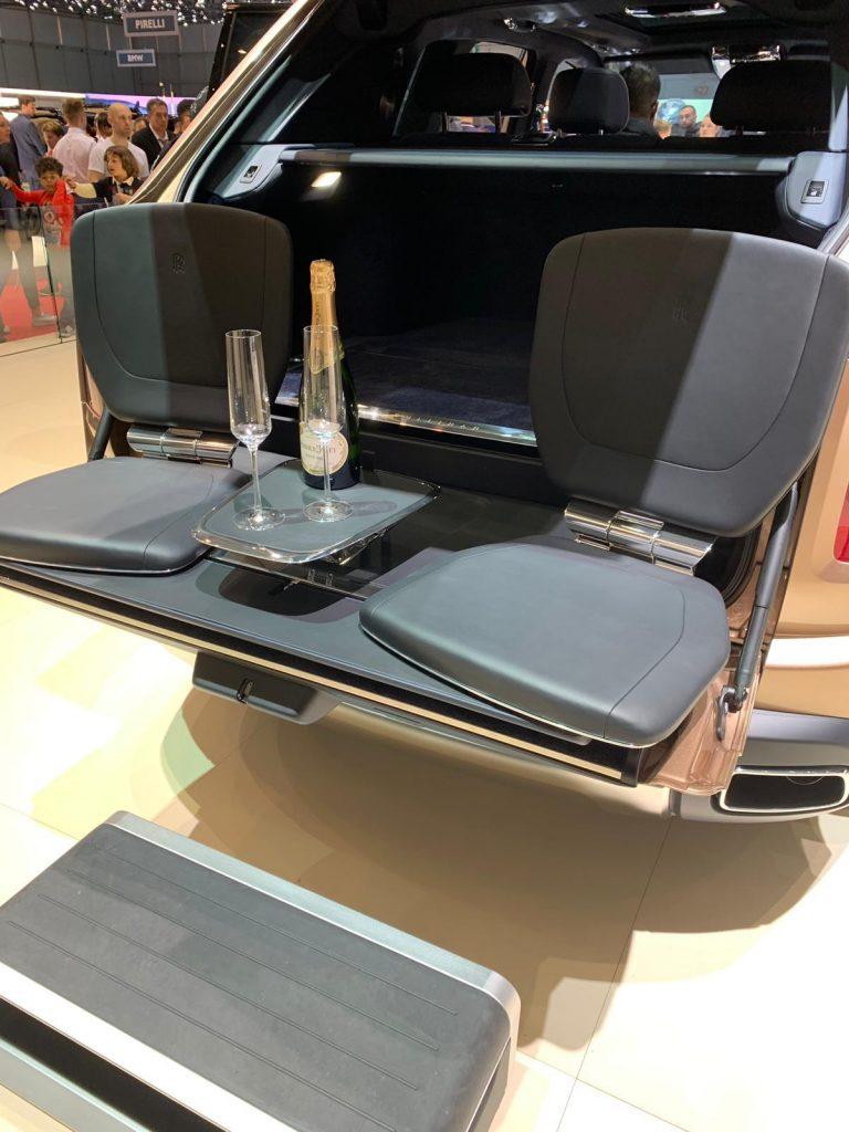 Automotive Haute Couture -Bugatti La voiture noir debut in Geneva