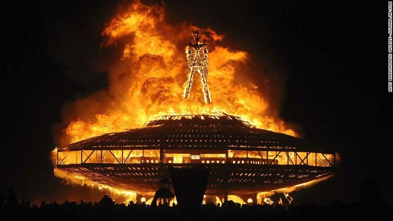What is a BURNING MAN?