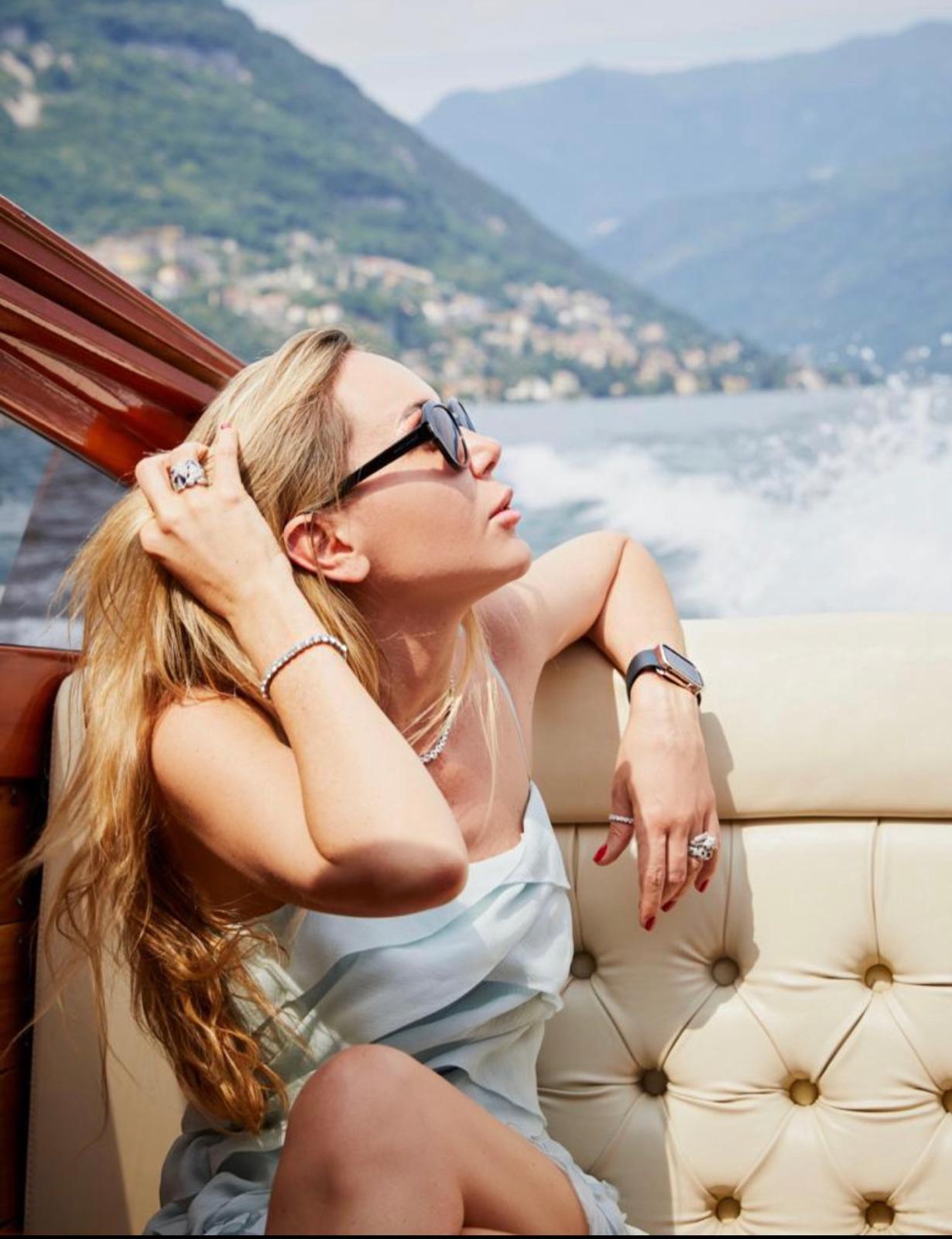 Cartier Symbolic Rebirth at Lake Como, Italy