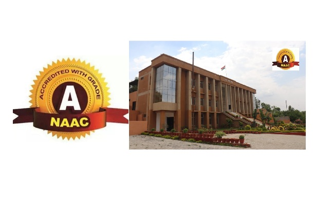 """Accredited by 'NAAC' with """"A"""" Grade"""