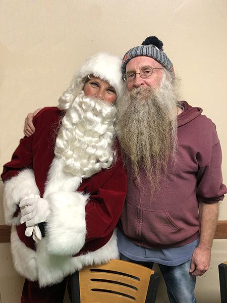Santa visits HABcore