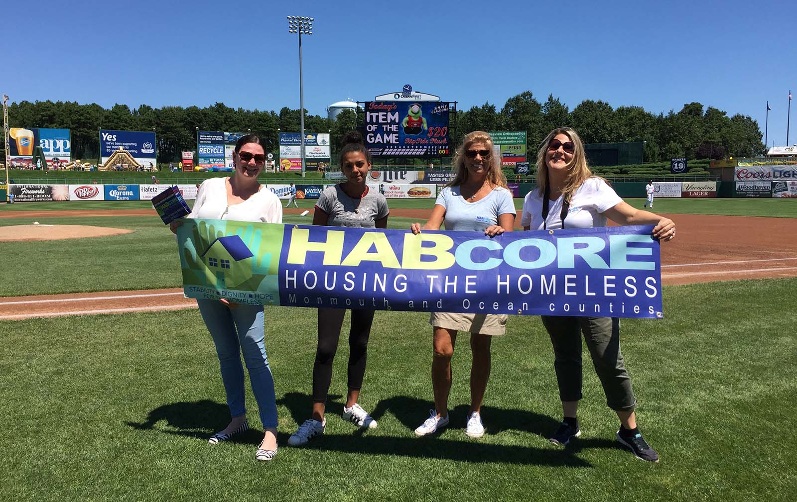 HABcore at the BlueClaws