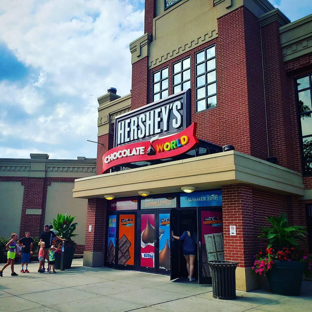 Black travel in Hershey PA