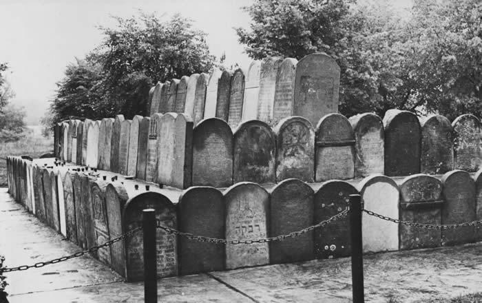Memorial in Kielce Jewish Cemetery