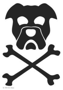 Pirate Dog Boat Logo