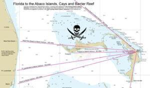Florida to Abaco Chart