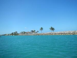 Entering Old Bahama Bay, West End, Grand Bahama