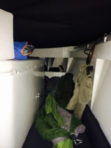 Sleeping Quarters on Pirate Dog, Hope Town Harbor