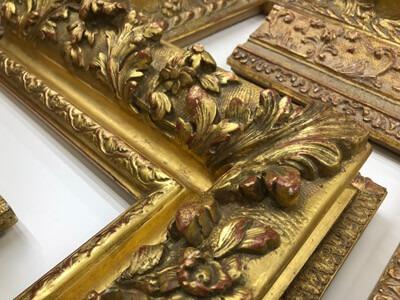 Ornate Carved 22k frames
