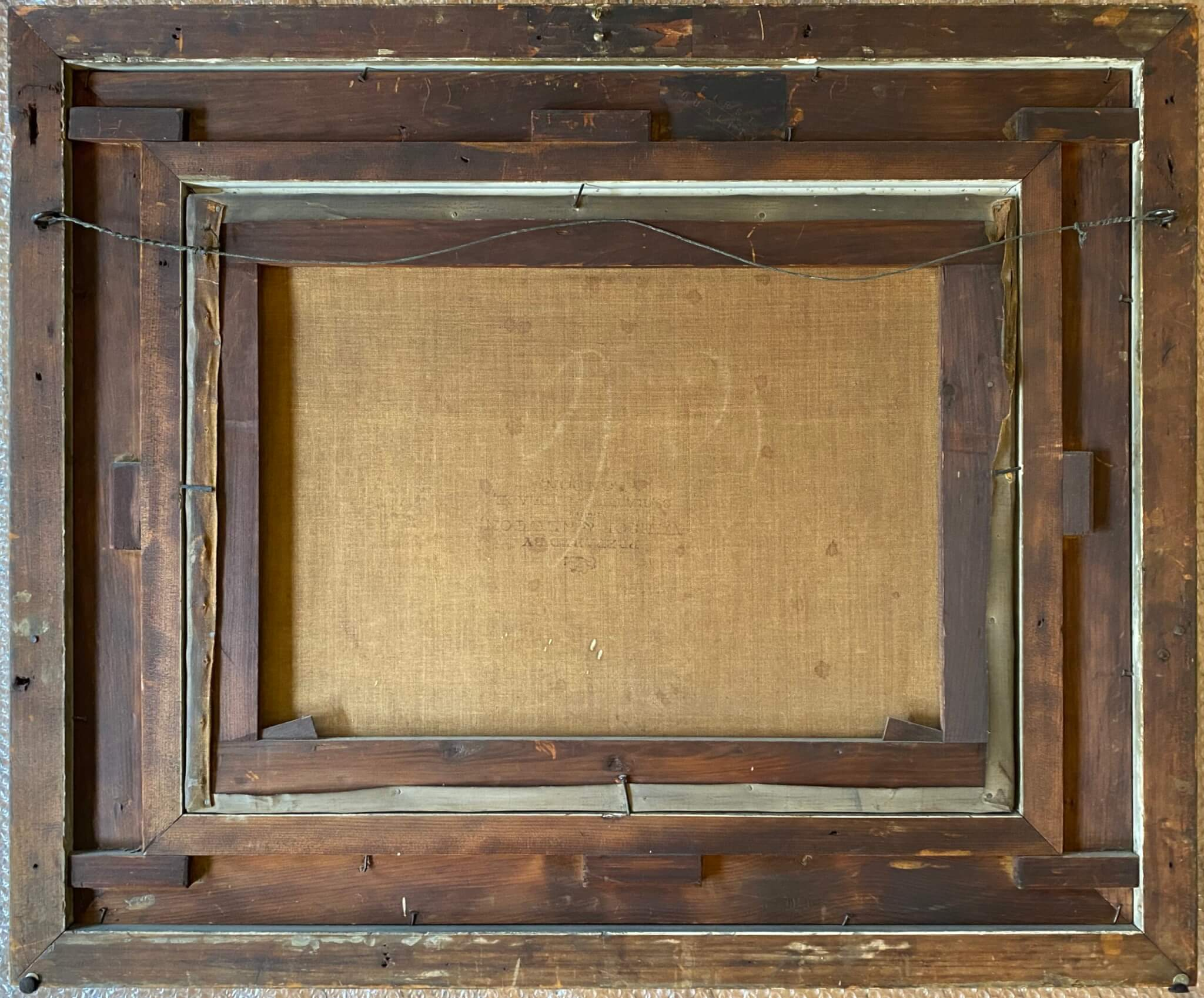 antique frame repair. Antique frame restoration. frame cleaning in Chicago