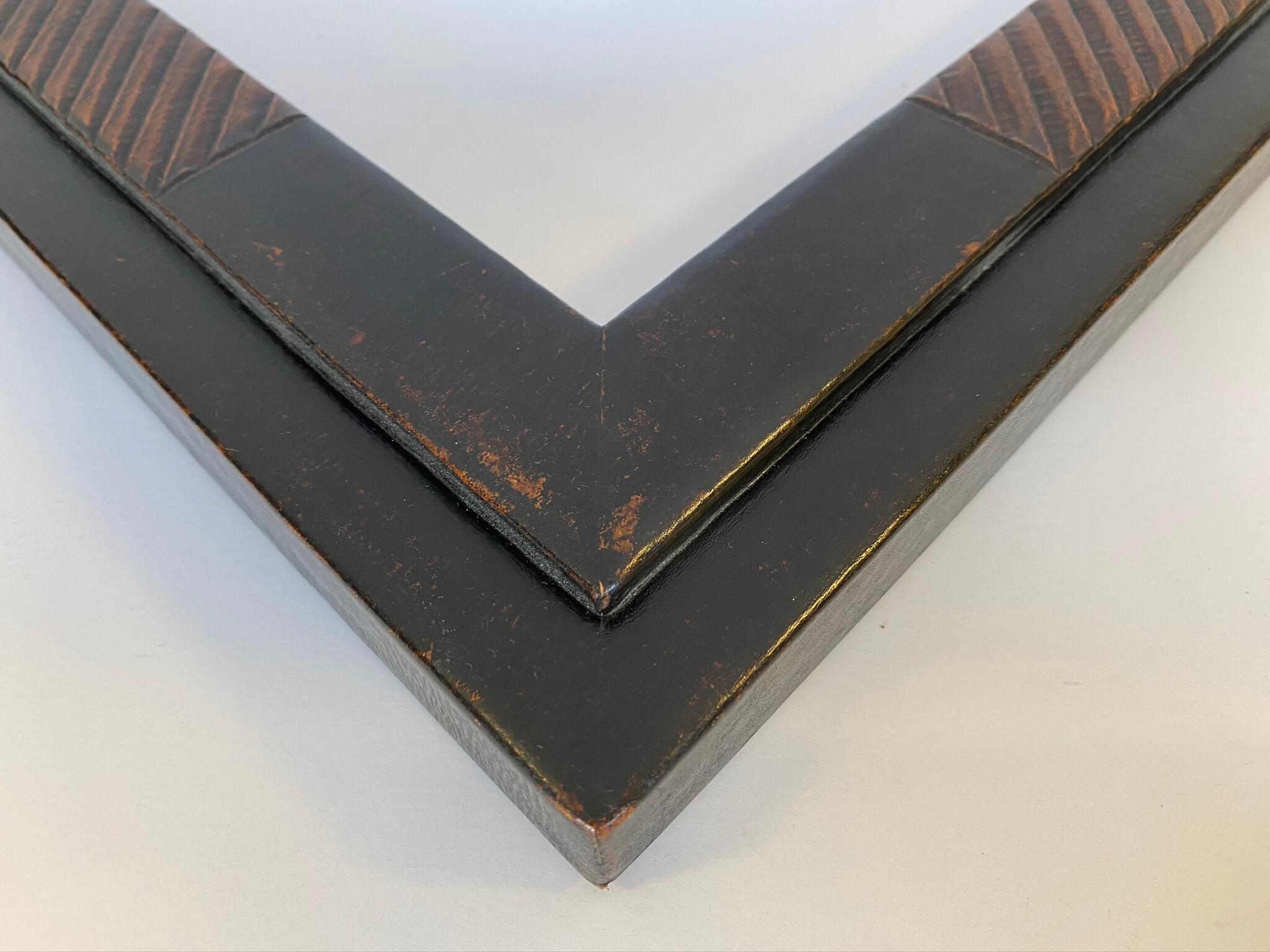 custom framing chicago, black leather frames lake forest, custom picture framing nashville April Hann lanford