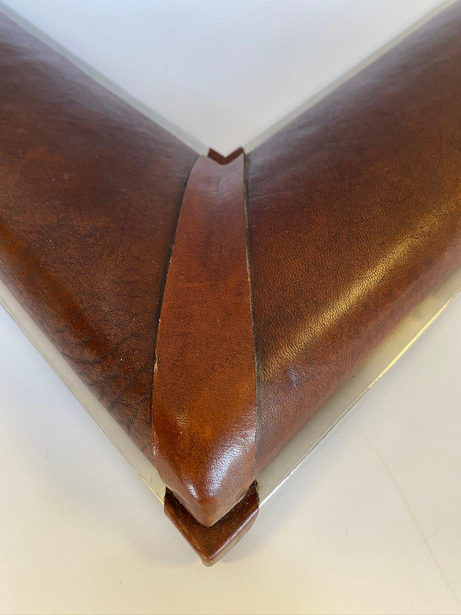 Cusotm leather frames midwest, April Hann Lanford frame designs, frame designs chicago