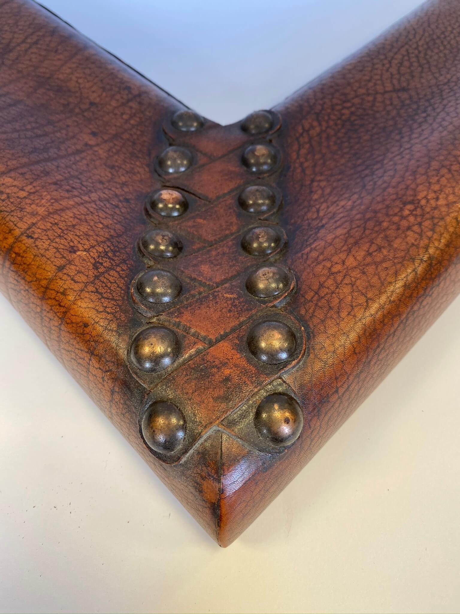 custom leather frame chicago, custom leather frame nashville, April Hann Lanford