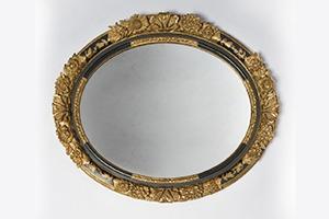 Custom-oval-frame