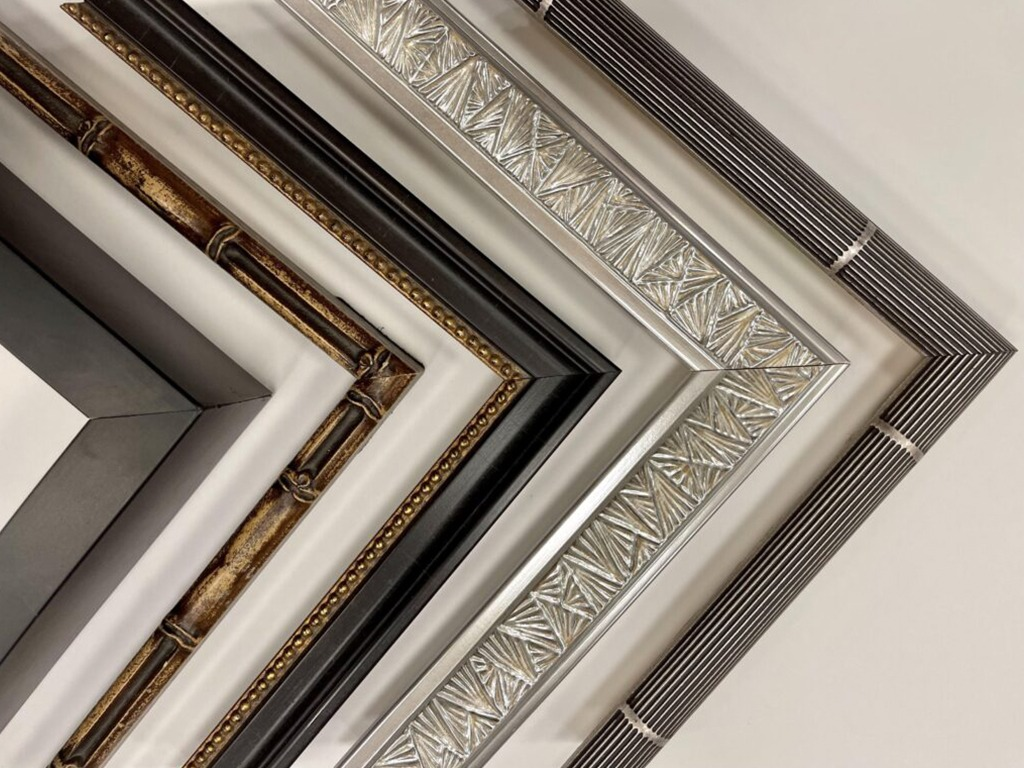 From antique black to bamboo, to art deco, rainbow, antique and ultra modern frames