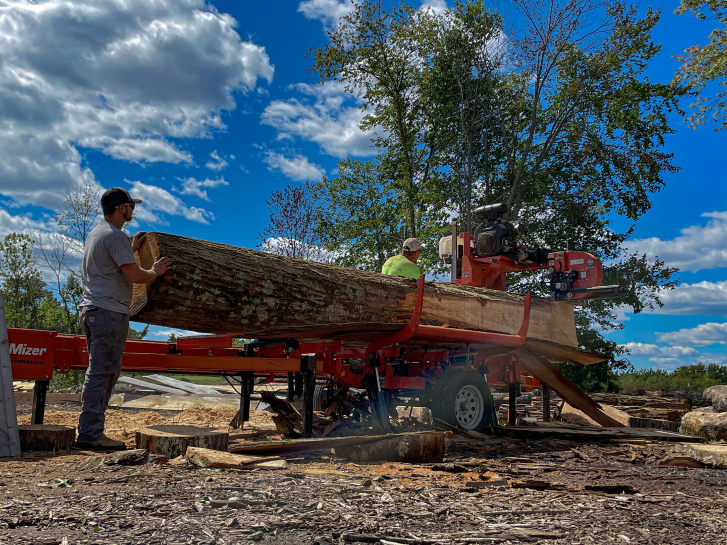Wood Processing, Milling, and Recycling