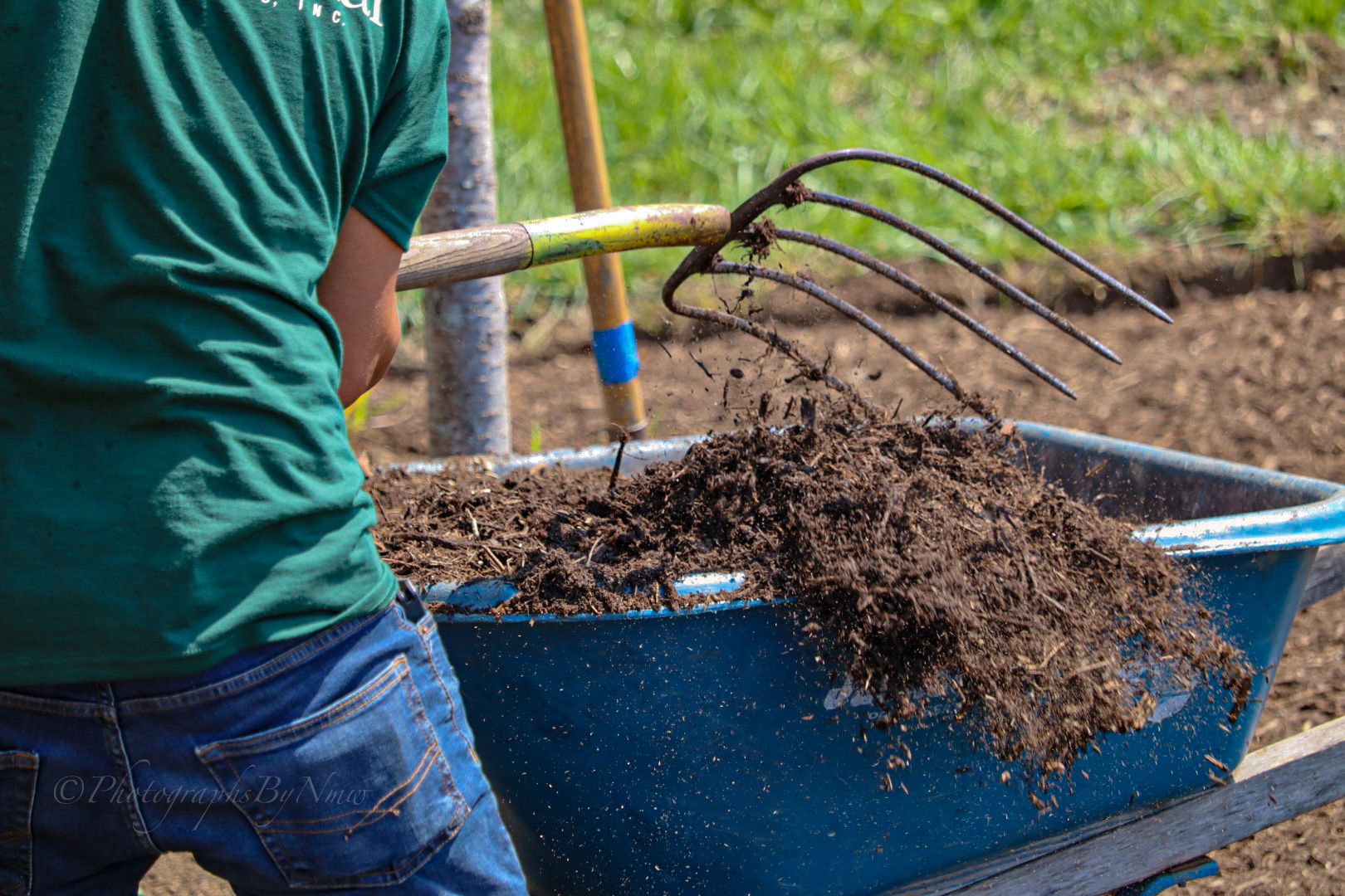 Premium Site-Produced Natural Mulch Products