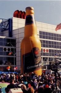 Miller Sponsoring Grorge R Brown Plaza Park 1990