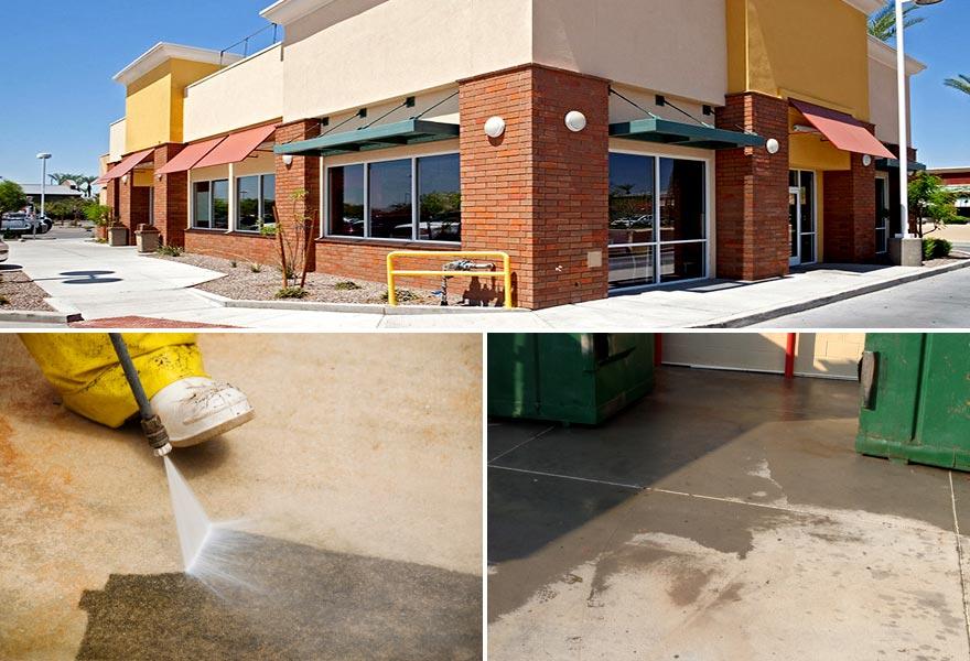 OKC area Restaurant Cleaning Pressure Washing